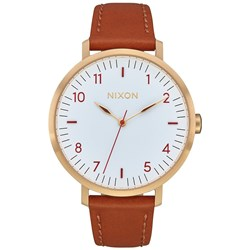 Nixon - Women's Arrow Leather Analog Watch