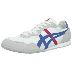 Asics - Mens Onitsuka Tiger Serrano Shoes In White/Blue