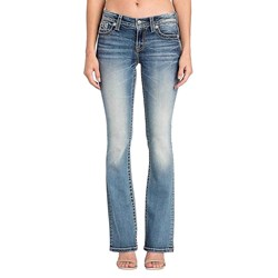 Miss Me - Womens M3332B Chloe Boot Cut Jeans