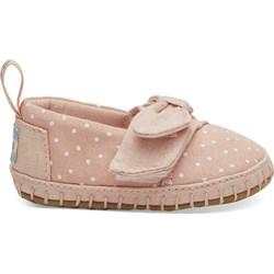 Toms Tiny Crib Alpargata Layette Shoes