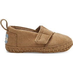 Toms Tiny Crib Alpargata Layette Shoes