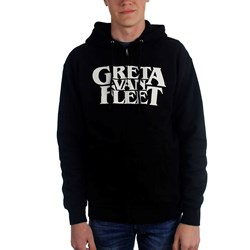 Greta Van Fleet - Mens Logo Zip Up