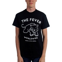 The Fever - Mens Black Cat Fever T-Shirt