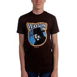 Waylon Jennings - Mens Fugitive T-Shirt