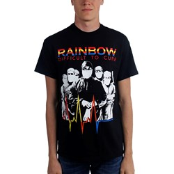 Rainbow - Mens Difficult To Cure T-Shirt