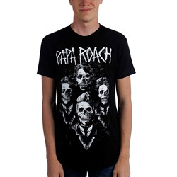 Papa Roach - Mens I Need Help Portrait T-Shirt (C)
