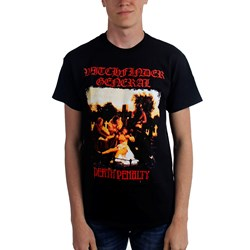 Witchfinder General - Mens Death Penalty T-Shirt