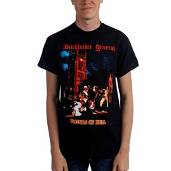 Witchfinder General - Mens Friends of Hell T-Shirt