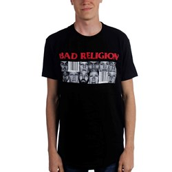 Bad Religion - Mens Gray Race T-Shirt