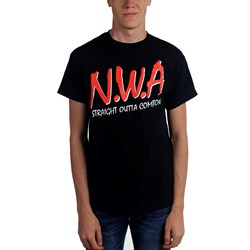 N.W.A. - Mens Straight Outta T-Shirt
