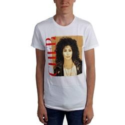 Cher - Mens Square Photo Vintage T-Shirt