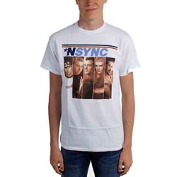 Nsync - Mens Split Photo T-Shirt