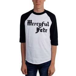 Mercyful Fate - Mens Logo Long Sleeve T-Shirt