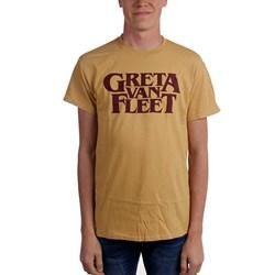 Greta Van Fleet - Mens Old Gold Logo T-Shirt