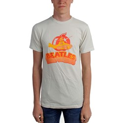 Beatles, The - Mens Yellow Sub Vintage Block T-Shirt