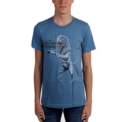 Rolling Stones, The - Mens Bridges To Babylon Lion T-Shirt