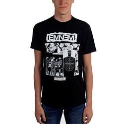 Eminem - Mens Bw Target Collage T-Shirt