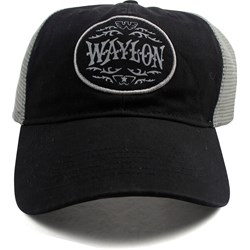 Waylon Jennings - Unisex Circle Trucker Hat