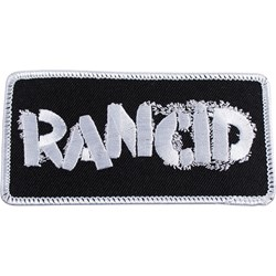 Rancid - Unisex Embroidered Logo Patch