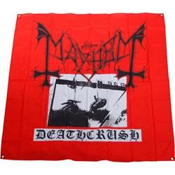 Mayhem - Deathcrush Flag Fabric Poster