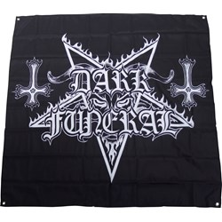 Dark Funeral - Logo Flag Fabric Poster
