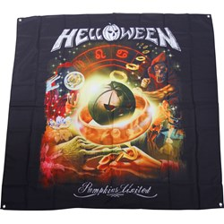 Helloween - Collage Flag Fabric Poster
