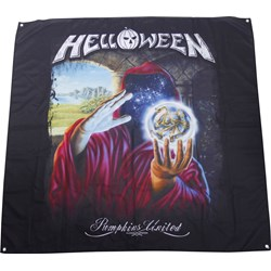 Helloween - Keepers Legend Flag Fabric Poster