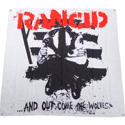 Rancid - AOCTW Flag Fabric Poster