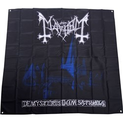 Mayhem - De Mysteriis Cloth Flag Fabric Poster