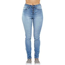 Dickies Girl - 5 Pocket Hi Rise Exposed Button Jeans