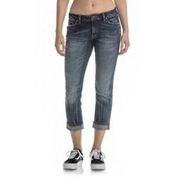 Rock Revival - Womens Vintage Blue Capri Jeans