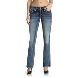 Rock Revival - Womens Ganya B200 Boot Jeans
