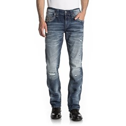 Rock Revival - Mens Migwel J203 Straight Jeans