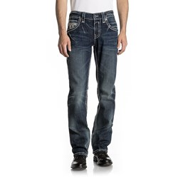 Rock Revival - Mens Karel J202 Straight Jeans