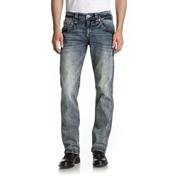 Rock Revival - Mens Ramiro J201 Straight Jeans