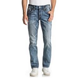 Rock Revival - Mens Kort Alternative Straight Jeans