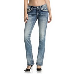 Rock Revival - Mens Leyah Boot Cut Jeans