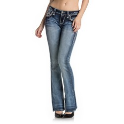 Rock Revival - Womens Yui Boot Cut Jeans