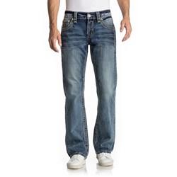 Rock Revival - Mens Goslar B405 Boot Cut Jeans