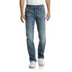 Rock Revival - Mens Goslar J402 Straight Jeans