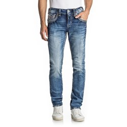 Rock Revival - Mens Brad A202 Alternative Straight Jeans