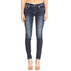 Miss Me - Womens Mid Rise M5082S83 Hailey Skinny Jeans