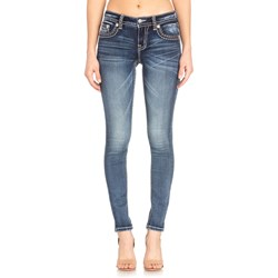 Miss Me - Womens Mid Rise M5012S50 Hailey Skinny Jeans