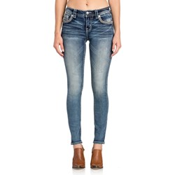 Miss Me - Womens Mid Rise M3355S Hailey Skinny Jeans
