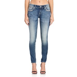 Miss Me - Womens Mid Rise M3359S Hailey Skinny Jeans