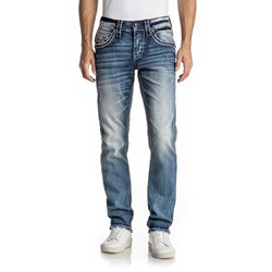 Rock Revival - Mens Ephal A204 Alt Straight Jeans