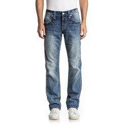 Rock Revival - Mens Fermin J206 Straight Leg Jeans
