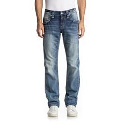 a64ec343223 Rock Revival - Mens Fermin J206 Straight Leg Jeans