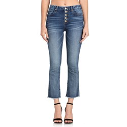 Miss Me - Womens H1002CB High-Rise Crop Bootcut Jeans