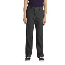 Dickies - Girls Stretch Straight Leg Pants